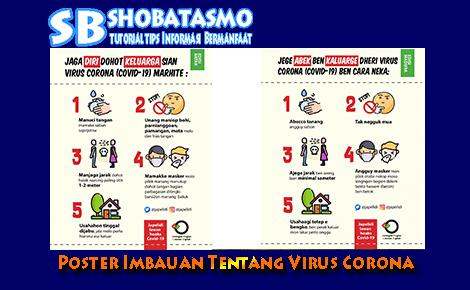 Contoh Gambar Poster Himbauan Tentang Virus Corona