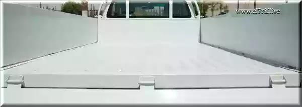 صورة توضح أبعاد صندوق السيارة