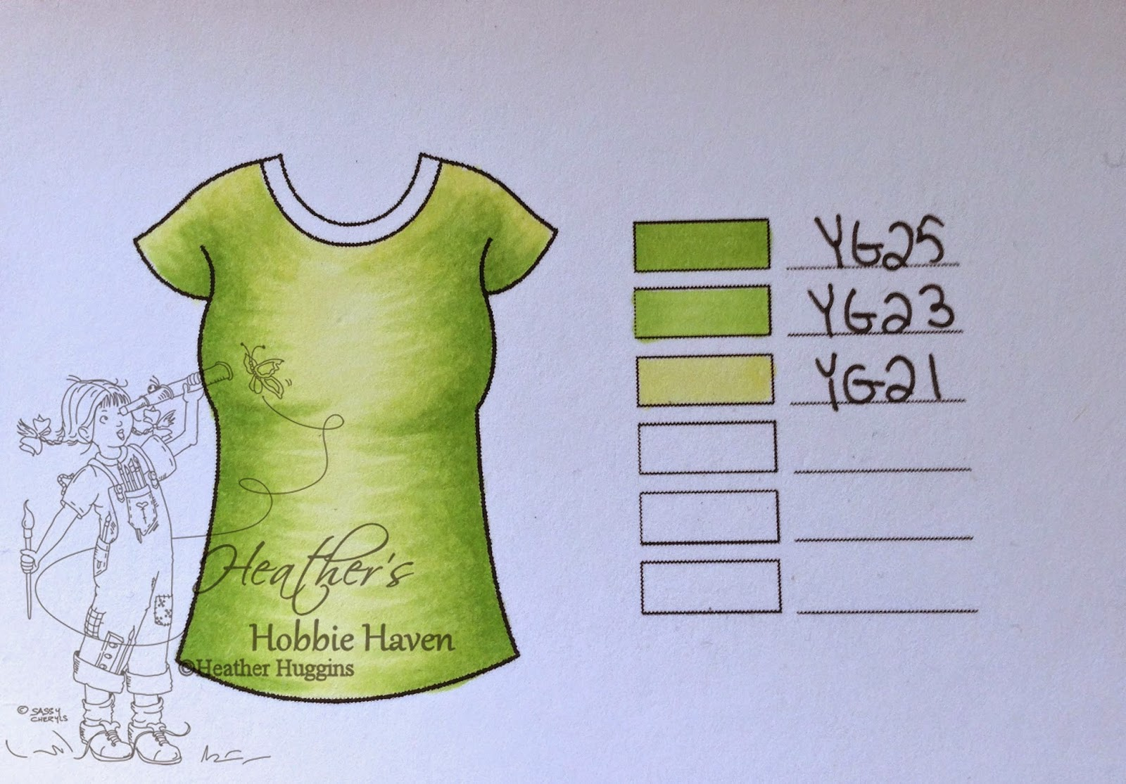 Heather's Hobbie Haven - Color Combo Wednesday