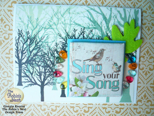 """Sing your song"" cards"