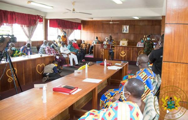 """Ghanaians Will Vote In Freedom, Peace & Security On 7th December"" – President Akufo-Addo"