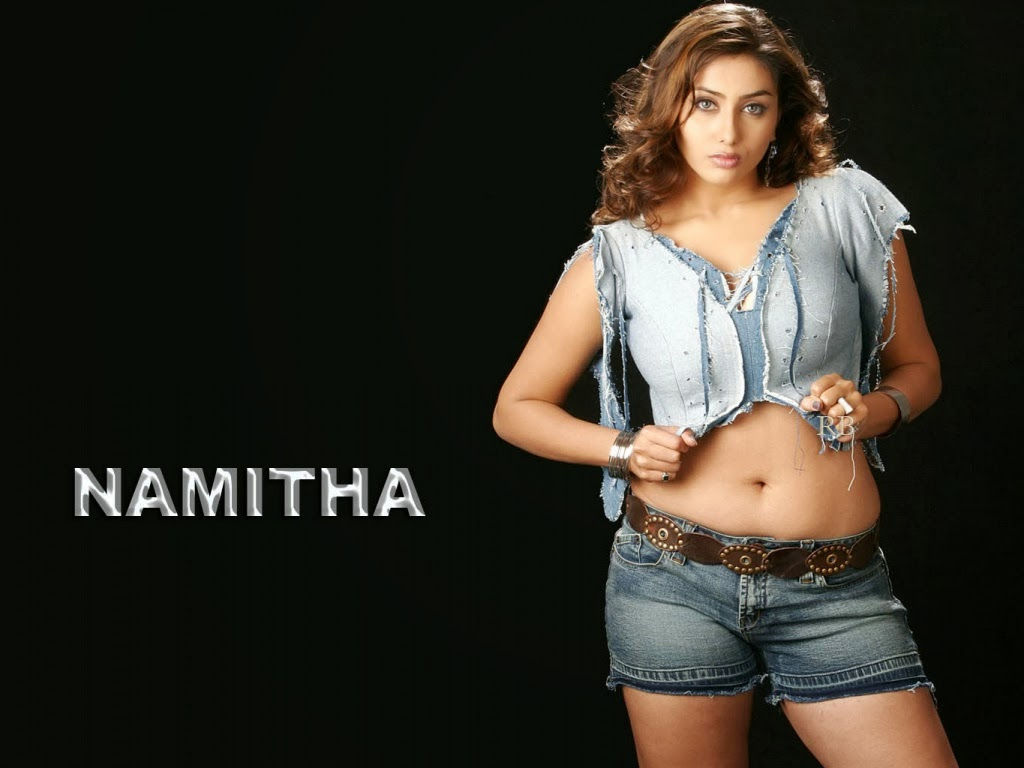 Hot South Indian Actress Namitha Kapoor Spicy Pictures