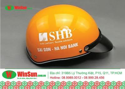 In nón bảo hiểm giá rẻ tại Tp Hồ Chí Minh