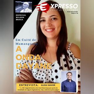 Revista digital destaca força política da filha de João Dantas em Cuité de Mamanguape