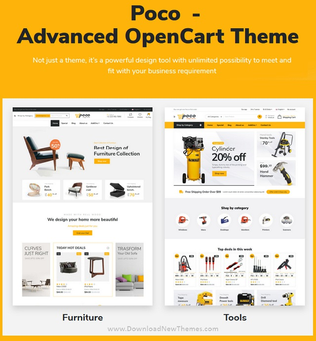 Advanced OpenCart Theme