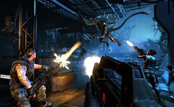nem Aliens: Colonial Marines e nem Alien vs. Predator podem ser encontrados atualmente no mercado online da Valve