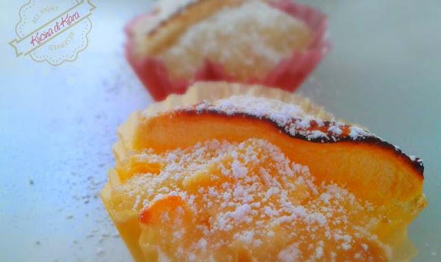 Muffin con mele e limone