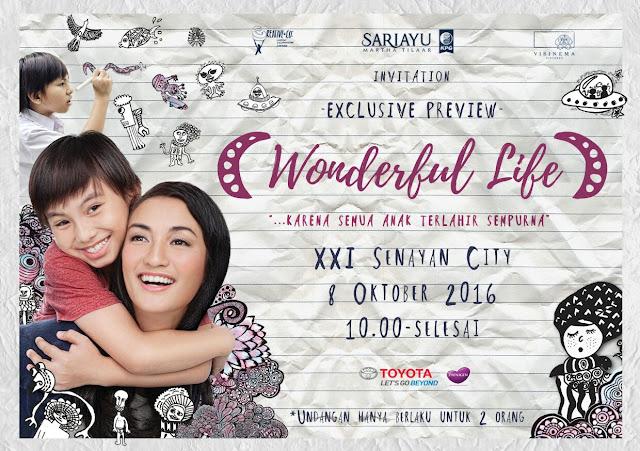 Film Wonderful Life, Pahami Dunia Anak Melalui Bahasa Mereka