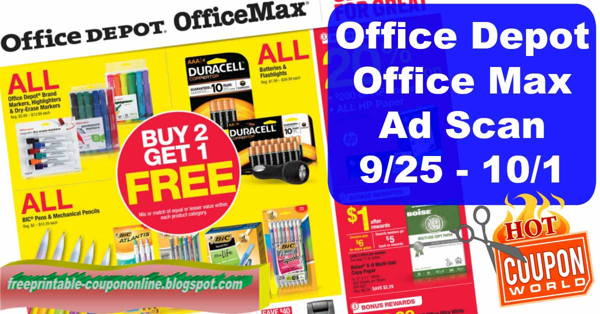 Office max printing coupons 2018