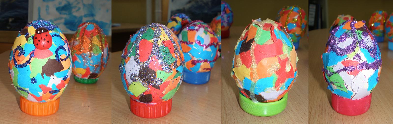 Ouă mozaic