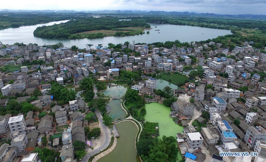 Nanning City in Guangxi, China