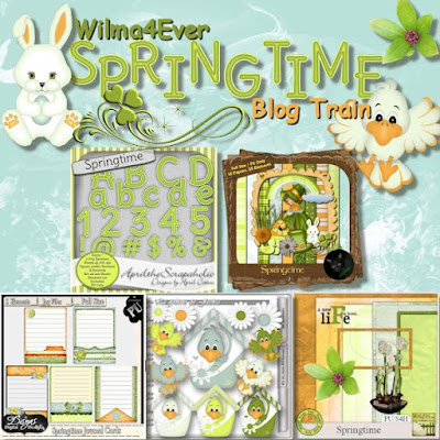 The Wilma4ever Blogtrain has departed : Springtime