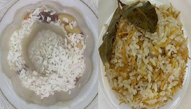 طريقة لذيذة لعمل ارز بالشعرية والروزماري / طريقة عمل مهلبية بالموز و المكسرات /الشيف محمد الدخميسي