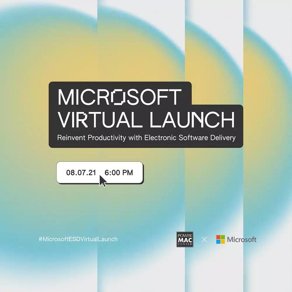 Power Mac Center x Microsoft Virtual Launch