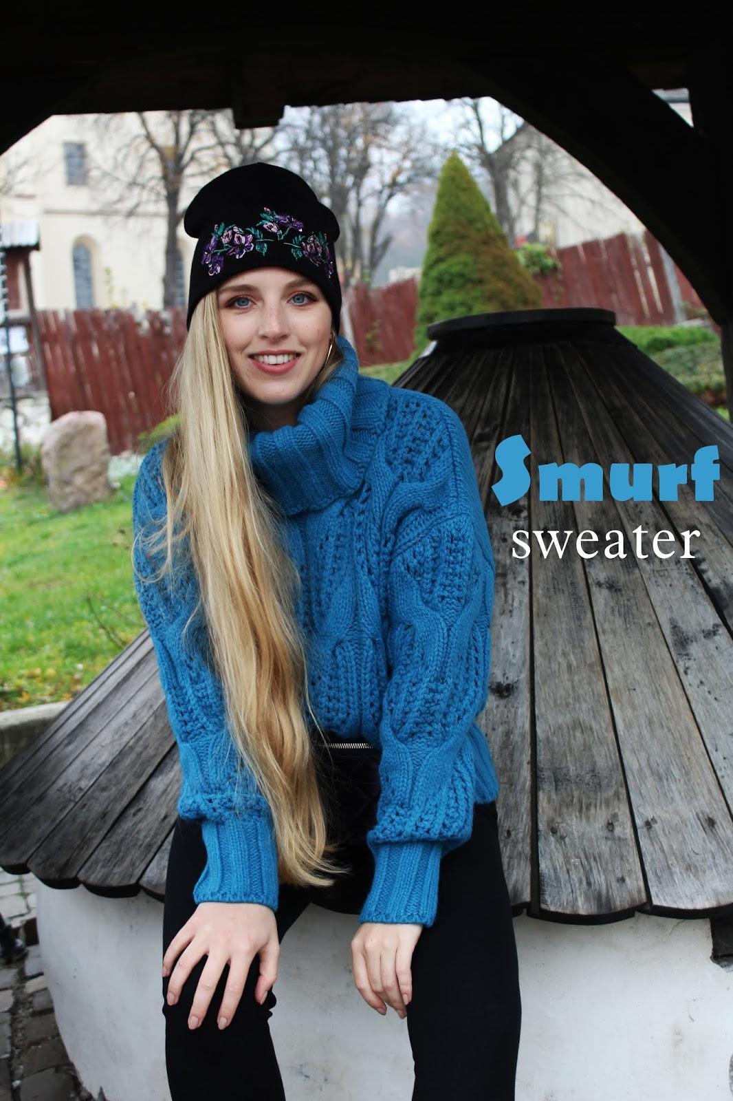 SMURF SWEATER