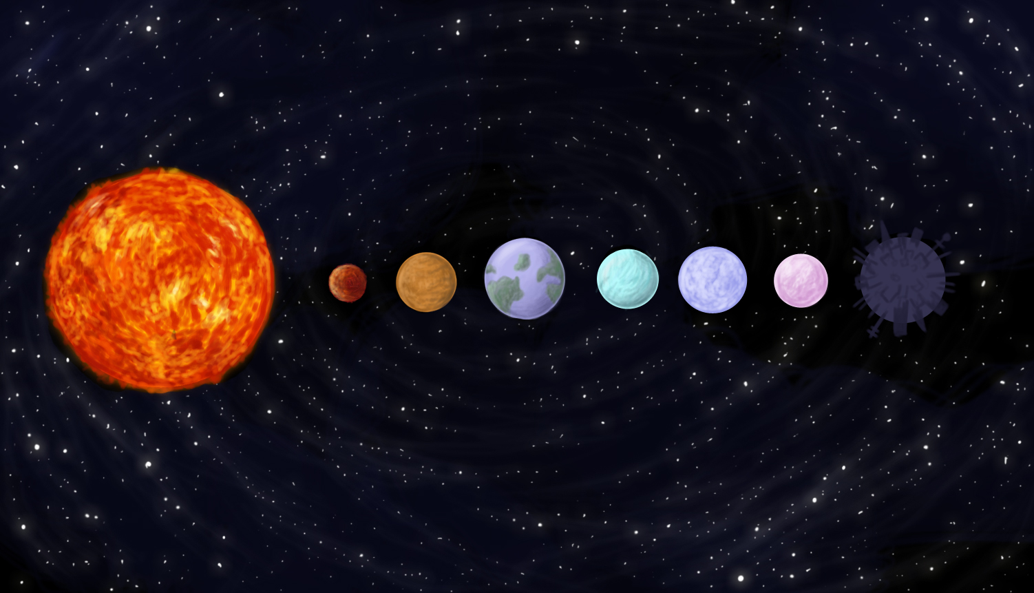 Solar System Drawing Tumblr - Pics about space