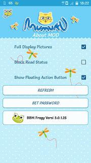 BBM Mod Frogy V3.0.1.25 Apk2