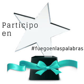 Banner trofeo de participación de Fuegoenlaspalabras