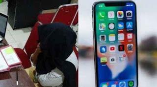 Seorang Mahasiswi Pura-Pura di culik kepada Orangtuanya Hanya Demi Iphone X