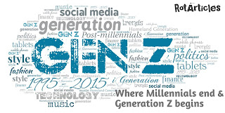 The Generation Z | Where Millennials end and Generation Z begins | Which is most Successful
