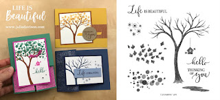 Stampin' Up! Life is Beautiful Card Kit  ~ August-December 2020 Mini Catalog ~ Stamp of the Month Club Card Kit ~ www.juliedavison.com