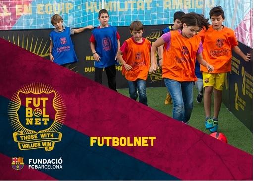 Τελετή λήξης για το πρόγραμμα της FC BARCELONA FutbolNET  «Μια μπάλα για τα παιδιά»  στη Λάρισα