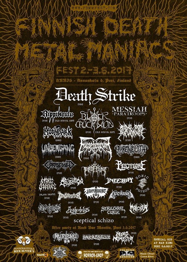 Finnish Death Metal Maniacs Fest 2017