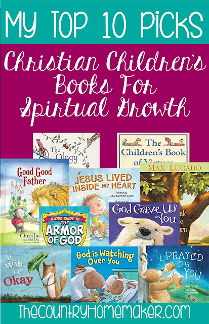 Top 10 Christian Children's Books For Spiritual Growth