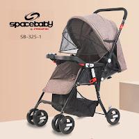 Kereta Dorong Bayi Spacebaby SB325-1 Baby Stroller