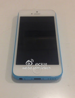 Photos for iPhone 5C phone white and blue