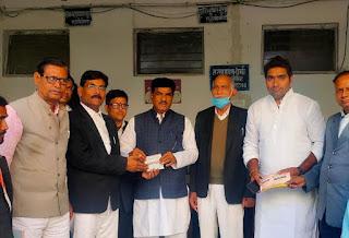 भाजपा कार्यकर्ता आजीवन सहयोग निधि के लक्ष्य को तय समय सीमा में पूरा करें - नाथू सिंह गुर्जर