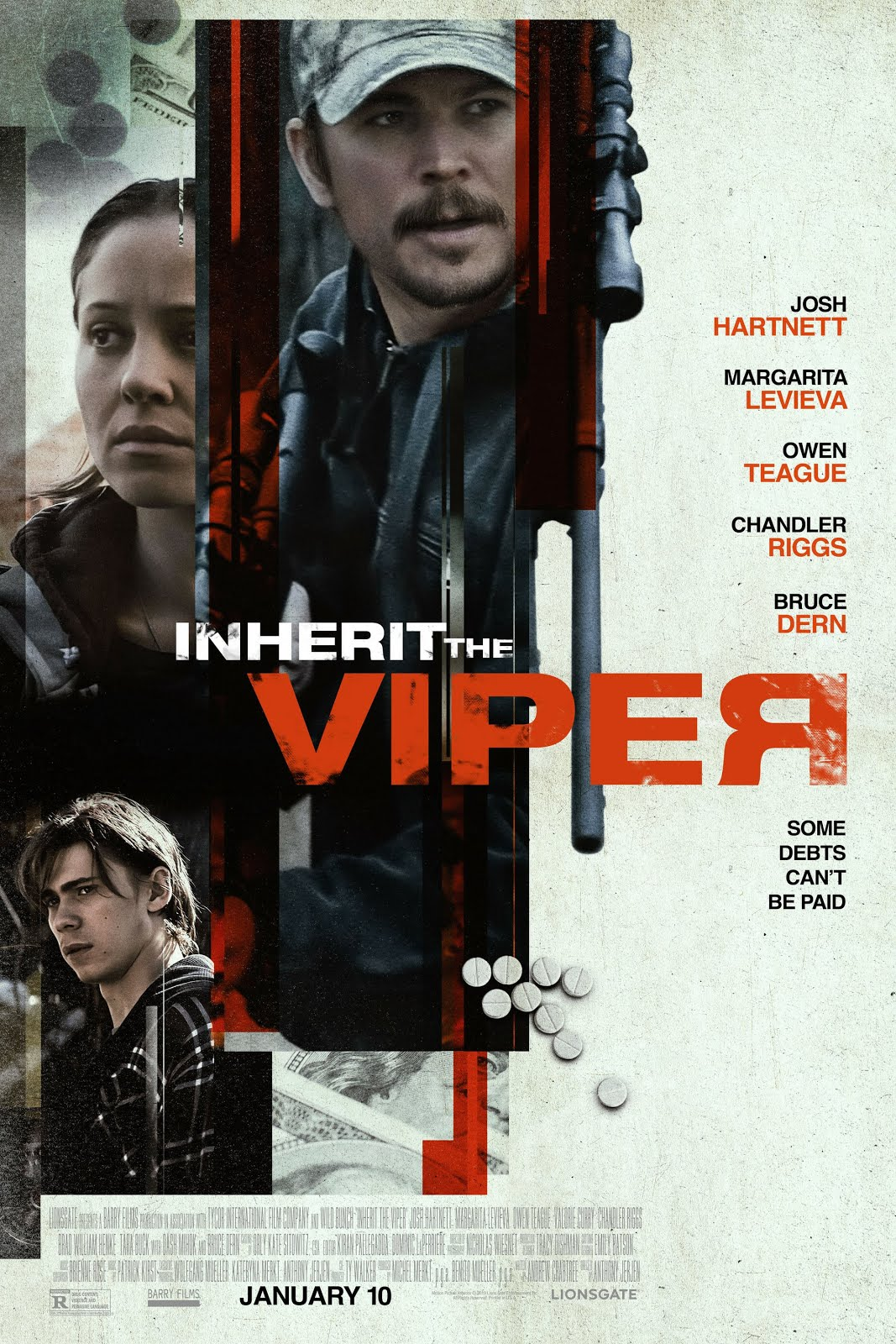 Inherit the Viper (2020) Dual Audio 720p WEB-DL [Hindi + English] ESubs