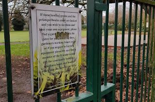 Pétanque in Victoria Park, Manchester