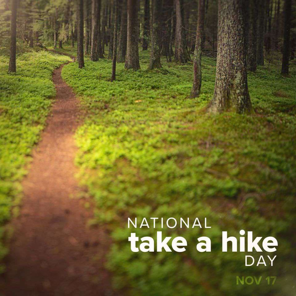 National Take a Hike Day Wishes For Facebook