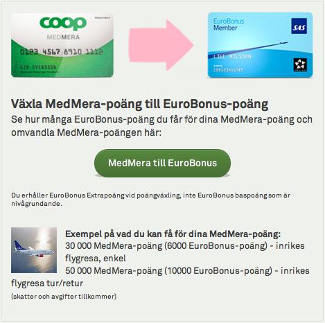 Euro Bonus Poäng Usa