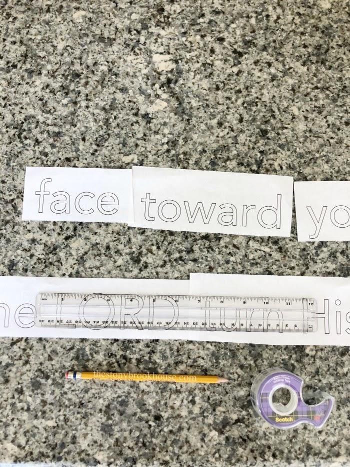 measuring word spacing