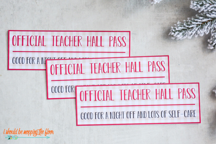 Teacher Hall Pass