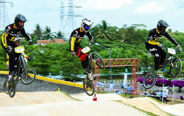 Persiapan Asian Games 2018 - Event Test BMX Ciamis
