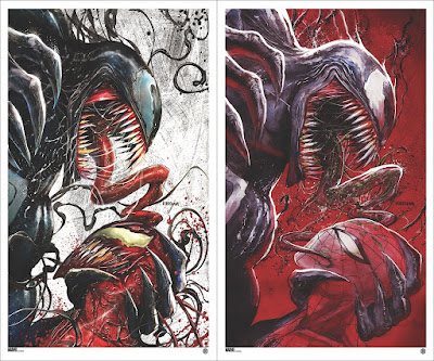 Venom #18 Cover A & B Fine Art Prints by Tyler Kirkham x Grey Matter Art