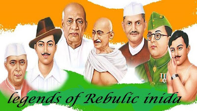 all legendary heroes of our nation, republic day images 2020