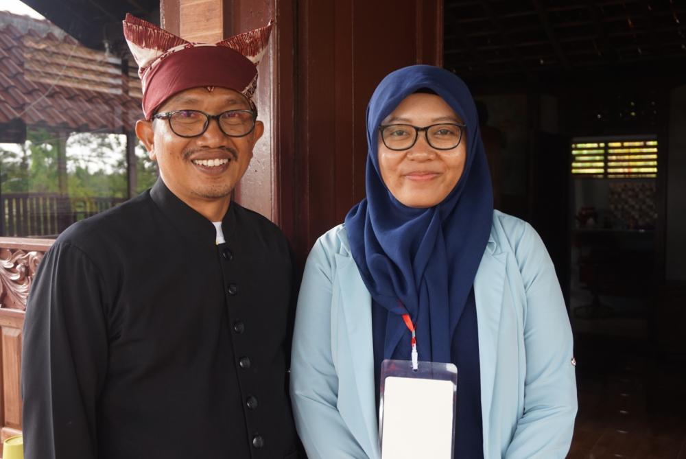 Martina Puspita, guru di SMA Katolik Hikmah Mandala Banyuwangi