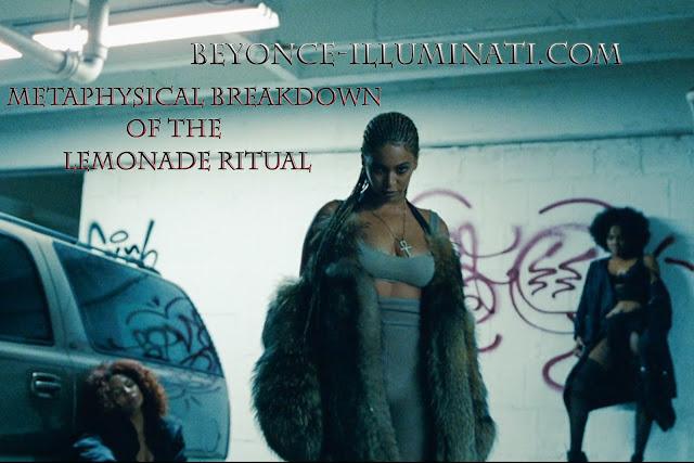 beyonce lemonade ritual esoteric meaning