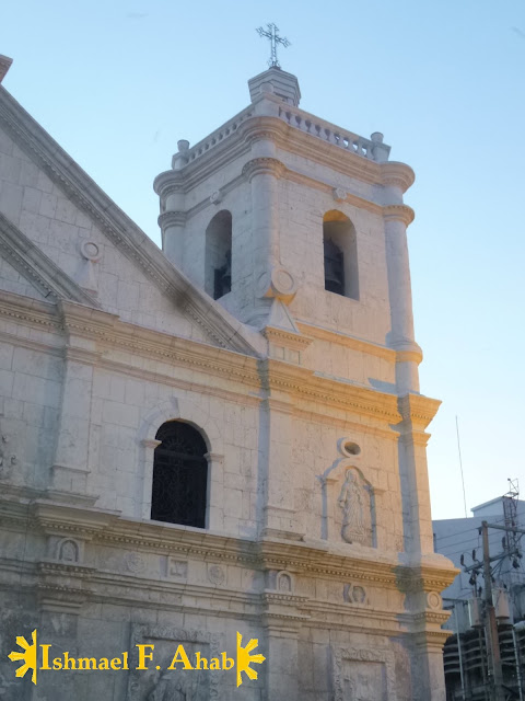 Renovated bell tower of the Minor Basilica of the Santo Niño in Cebu City