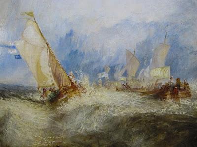 Turner fue un maestro en provocar emociones a través de sus pinturas