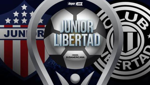 Junior - Libertad en vivo vía ESPN 3: cómo ver online octavos de Copa Sudamericana