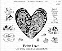 Our Daily Bread designs Boho Love