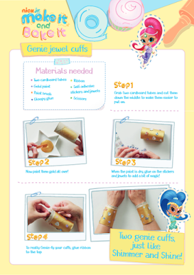 Shimmer and Shine activities for kids