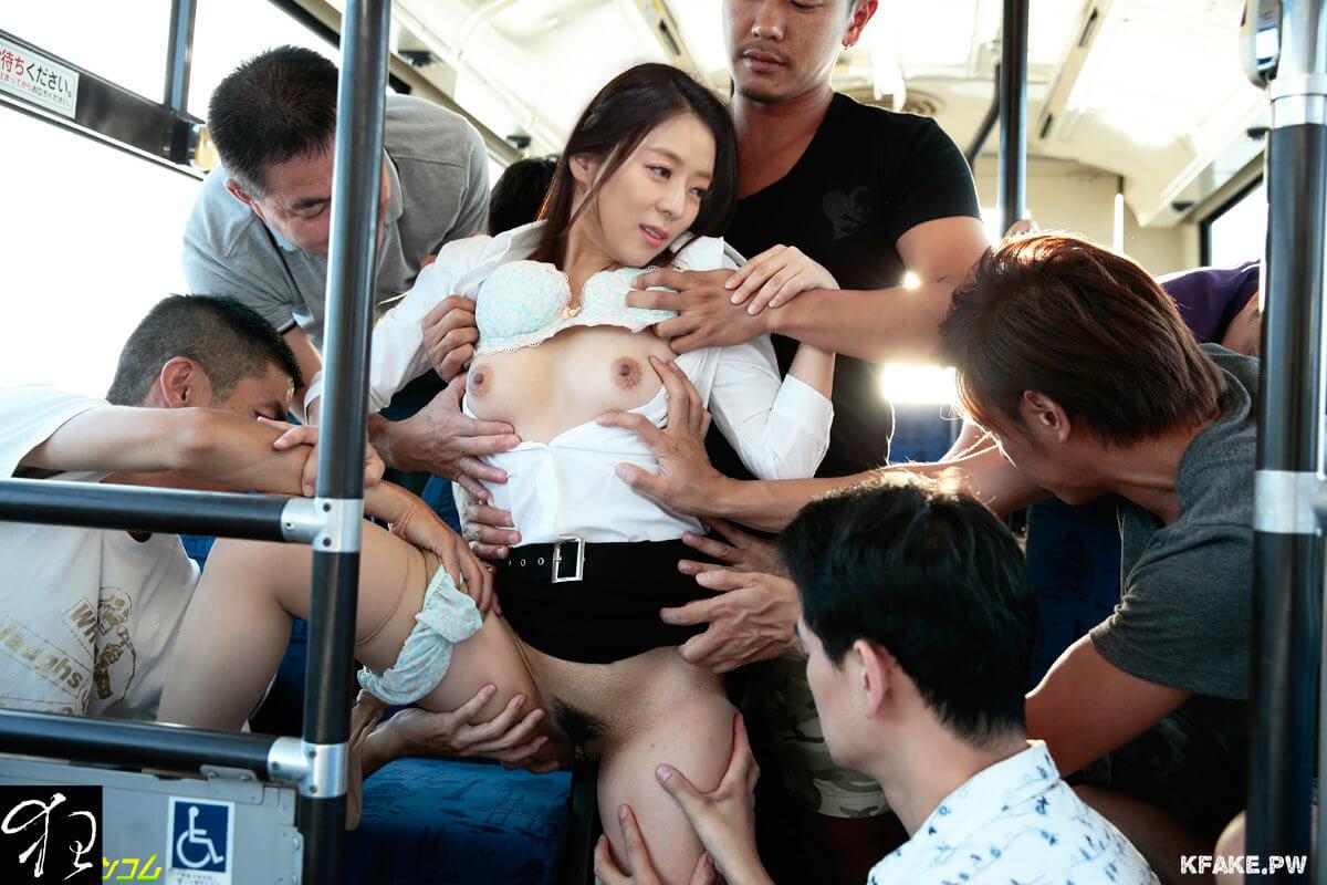 Японки в автобусе смотреть онлайн