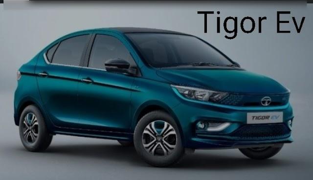 Tata motors start taking booking new Tigor EV.