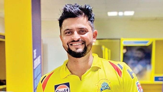 Suresh Raina with Chennai